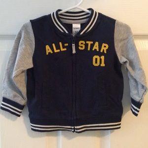 Carters zipper jacket